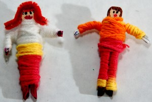 WORRY DOLLS take your troubles away!