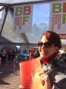 A quick visit to the Boston Book Festival!