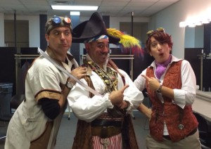 With the hilarious David Engel (Billy Bones) of Pirate School at the OAPN Showcase in Springfield, Ohio