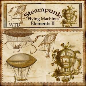 steampunk flying machines