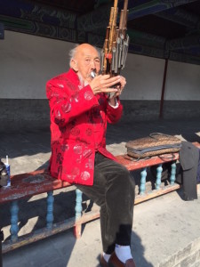 Cool Old Chinese Musician