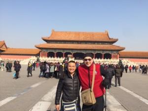 Kenny and Summer Forbidden City Man Purse